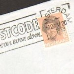 Postzegel 1989, Beatrix 75cent Amsterdam