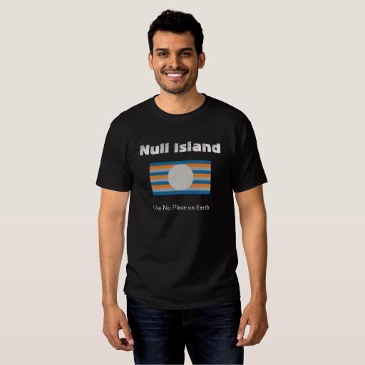 T-shirt NullIsland